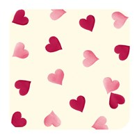 Emma Bridgewater Pink Hearts Coasters Set Of 4