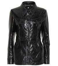 Alexachung Faux Leather Jacket Black