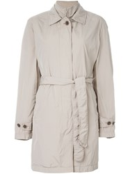 Fay Belted Trench Coat Nude And Neutrals