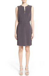 Women's Fabiana Filippi Front Zip Crepe Dress