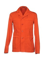 Miu Miu Overcoats Orange