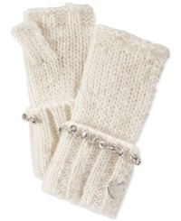 Betsey Johnson On The Rocks Fingerless Gloves