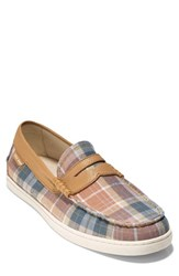 Cole Haan 'Pinch Weekend' Penny Loafer Coffee Plaid