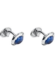 Links Of London Sterling Silver Sodalite Cufflinks Blue