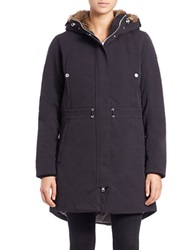 Helly Hansen Faux Fur Lined Hooded Parka Black