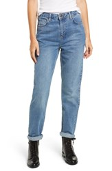 Bdg Urban Outfitters Mom Jeans Denim Blue