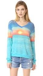 Wildfox Couture Sunset Cruise Pullover Multi