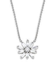 Kc Designs Mosaic Starburst Diamond And 14K White Gold Pendant Necklace No Color