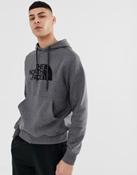 The North Face Drew Peak Pullover In Grey