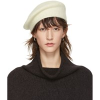 8fc25605b29f5 La Garçonne. Save. Lauren Manoogian Off White Alpaca Beret