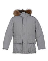 Add Coats And Jackets Down Jackets Men Grey