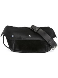 Maison Martin Margiela Distressed Effect Fanny Pack Black