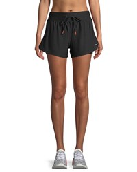 X By Gottex Drawstring Track Shorts Black