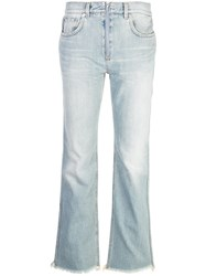 Givenchy Straight Jeans Blue