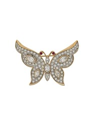 Susan Caplan Vintage '1980S Attwood And Sawyer Butterfly Brooch Gold
