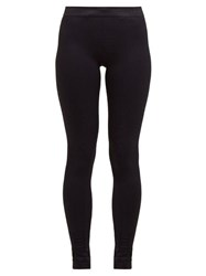 Falke Vision High Rise Performance Leggings Black