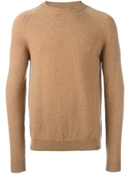 Paul Smith Ps By Raglan Jumper Nude Neutrals