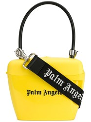Palm Angels Padlock Tote Yellow