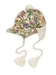 Gucci Peruviano Trapper Hat Sand Light Green