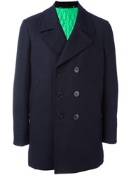 Paul Smith 'A Coat To Travel In' Peacoat Blue
