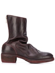 Guidi Relaxed Shape Ankle Boots 60