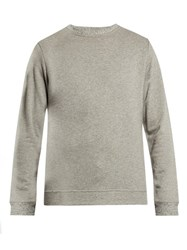Oliver Spencer Robin Crew Neck Jersey Sweater Light Grey