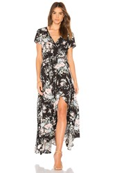 Auguste Scarlett Wrap Maxi Dress Black
