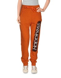 Happiness Trousers Casual Trousers Women Orange
