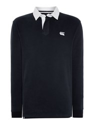 Canterbury Of New Zealand L S Plain Rugby Black