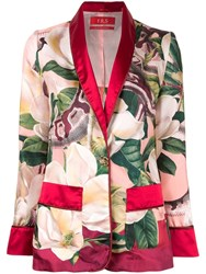 F.R.S For Restless Sleepers Floral Print Blazer Multicolour