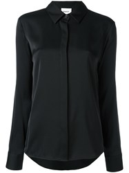 Dkny Satin Shirt Black