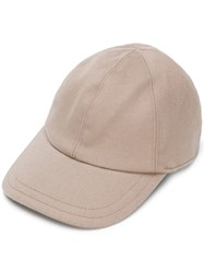 Eleventy Six Panel Cap Nude And Neutrals