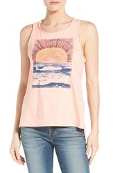 Women's Lucky Brand 'Sunrise Mountain' Graphic Racerback Tank