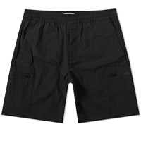 Norse Projects Luther Tech Cargo Short Black
