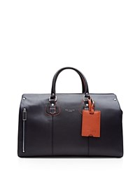 Ted Baker Colbad Color Block Leather Bowler Bag Navy