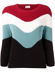 Red Valentino Knitted Jumper Red