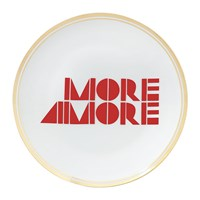 Bitossi Funky Table Plate More Amore 17Cm