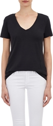 Barneys New York V Neck T Shirt Black