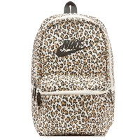 Nike Heritage Leopard Backpack Brown