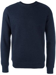 A.P.C. Crew Neck Sweater Blue