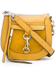 Rebecca Minkoff Hobo Crossbody Bag Yellow Orange