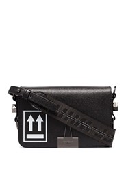 Off White Mini Arrow Logo Shoulder Bag Black