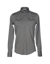 Aglini Shirts Grey