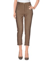 Pinko Black Trousers 3 4 Length Trousers Women Khaki