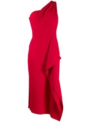 Roland Mouret Rivoli Dress Red