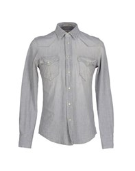 Cycle Denim Denim Shirts Men Grey