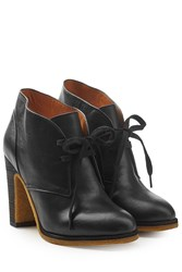 See By Chloe Leather Boots Black