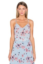 House Of Harlow X Revolve Audrey V Neck Cami Blue
