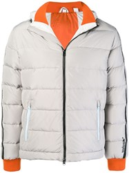 Rossignol Hooded Padded Jacket Grey