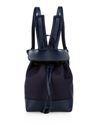 Mansur Gavriel Mini Canvas And Leather Backpack